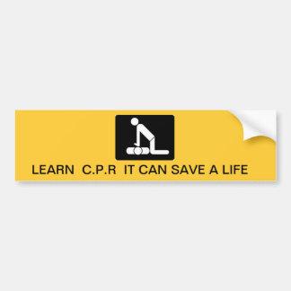 Retten Sie ein Leben Autoaufkleber