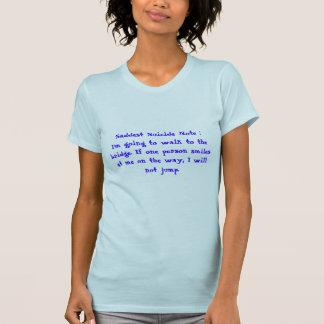 Retten Sie ein Leben, Lächeln… T-Shirt