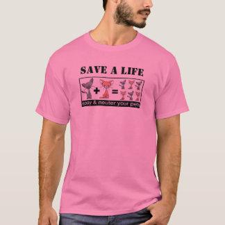 RETTEN Sie ein LEBEN Spay und neutralisieren Ihre T-Shirt