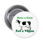 Retten Sie eine Kuh Button