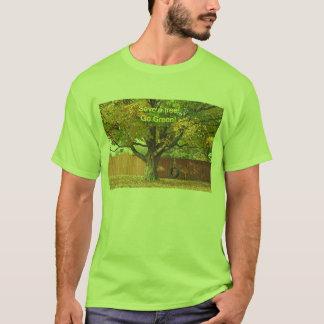 Retten Sie einen Baum, mit einem Reifenschwingen! T-Shirt