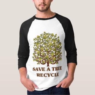 Retten Sie einen Baum T-Shirt