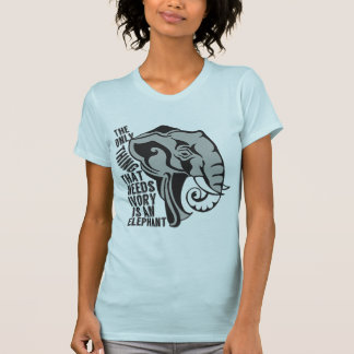 Retten Sie Elefanten Hemd
