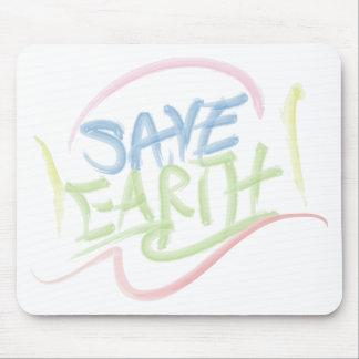 Retten Sie Erde! - Die Kunst des Kindes - Mousepad