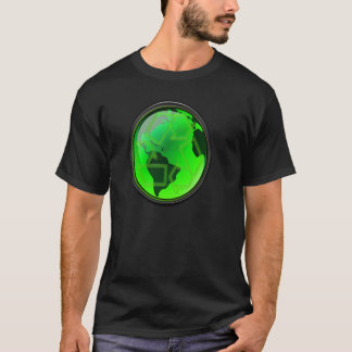 Retten Sie Erde-Gerecycelte-GoGreen T-Shirt