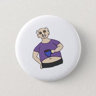 Retten Sie Fred Runder Button 5,7 Cm