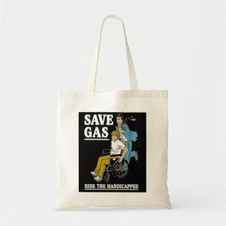 retten Sie Gas-Tasche