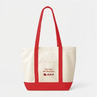 retten Sie Gasren lustige Taschentasche Einkaufstasche