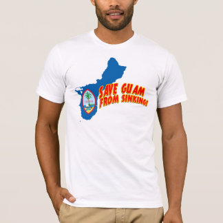 RETTEN SIE GUAM VOM SINKEN T-Shirt