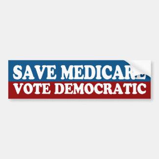 Retten Sie Medicare, Abstimmungs-demokratischen Autoaufkleber