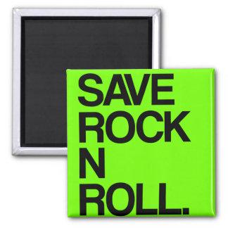 Retten Sie Rock'n'Rollmagneten Quadratischer Magnet