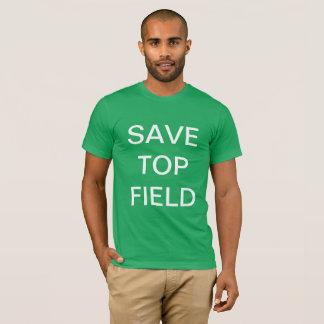 Retten Sie Spitzenfeld - den T - Shirt der Männer