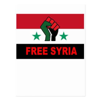 RETTEN Sie SYRIEN M.png Postkarte