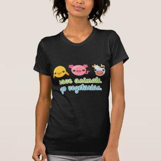 Retten Sie Tiere gehen Vegetarier Hemd