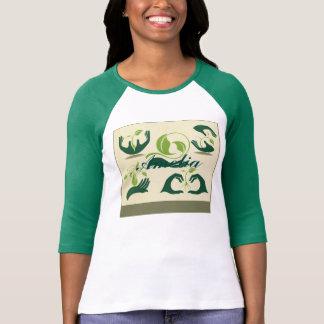 Retten Sie unsere Erdsymbole, ökologisch, T Shirts