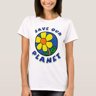 Retten Sie unsere Planeten-Damen T-Shirt