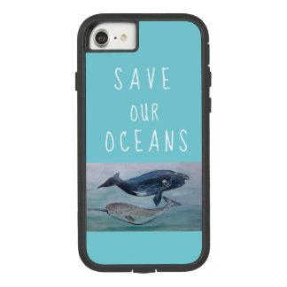 Retten Sie unseren Ozeanfall Case-Mate Tough Extreme iPhone 8/7 Hülle