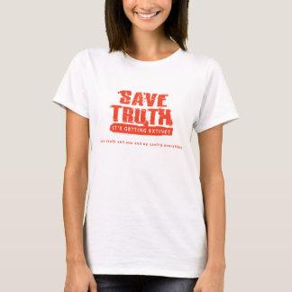Retten Sie Wahrheits-T - Shirt
