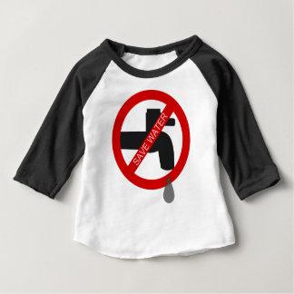 Retten Sie Wasser Baby T-shirt