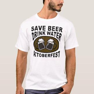 RETTEN SIE WASSER-GETRÄNK-BIER OKTOBERFEST T-Shirt