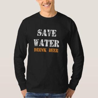 RETTEN SIE WASSER-GETRÄNK-BIER T-Shirt
