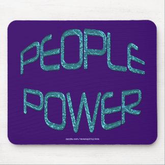 Retten Sie Wasser-Leute-Power-Unabhängigkeits-Moti Mousepad