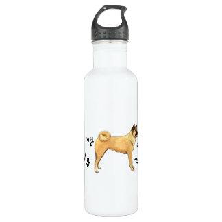 Rettung Akita Trinkflasche