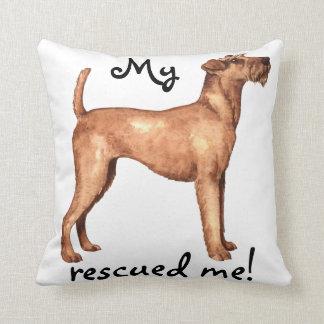 Rettung irisches Terrier Kissen