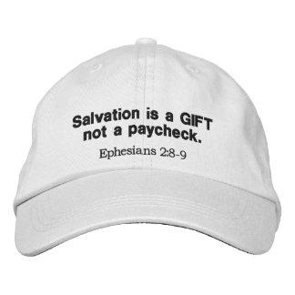 Rettung ist ein Geschenk nicht ein Gehaltsscheck - Bestickte Baseballkappe