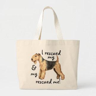 Rettung Lakeland Terrier Jumbo Stoffbeutel