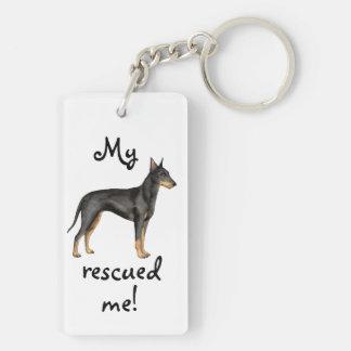 Rettung Manchester Terrier Schlüsselanhänger