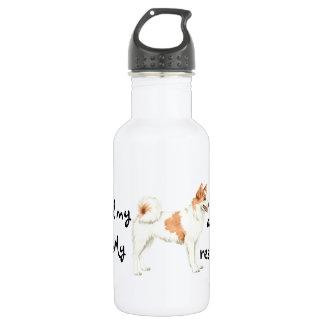 Rettung Norrbottenspets Trinkflasche