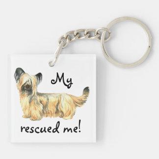 Rettung Skye Terrier Schlüsselanhänger