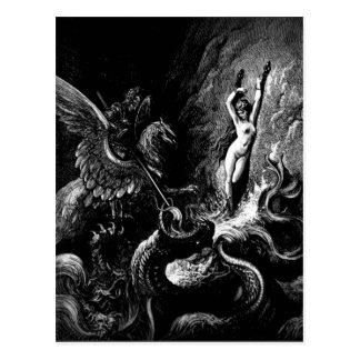 Rettungs-Angelikapostkarte Postkarte