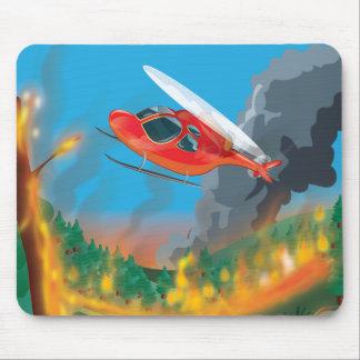 Rettungs-Hubschrauber Mauspads