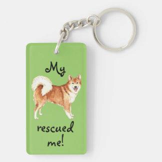 Rettungs-Isländer-Schäferhund Schlüsselanhänger