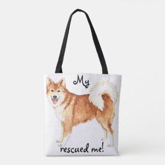 Rettungs-Isländer-Schäferhund Tasche