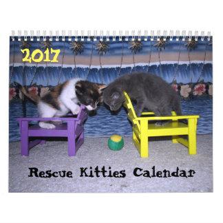 Rettungs-Kätzchen-Kalender - Zugaben-Ausgabe Abreißkalender