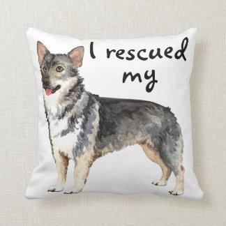 Rettungs-Schwede Vallhund Kissen