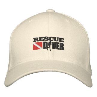 Rettungs-Taucher (gestickte Kappe) Bestickte Kappe