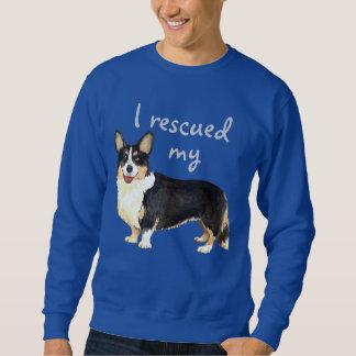 Rettungs-Wolljacken-WaliserCorgi Sweatshirt