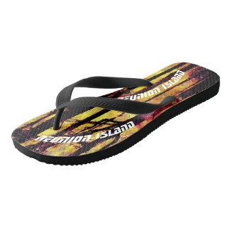 Reunion Island Flip Flops
