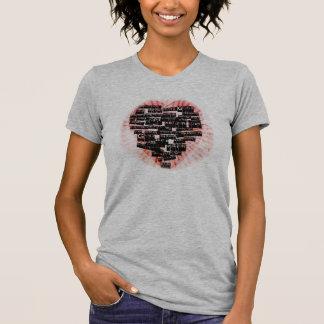 REV-MEDIUM-Herz eines Führers T-Shirt