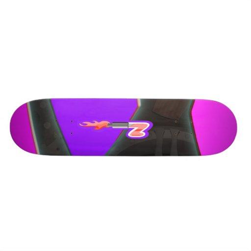 Revnjenz Girlz Skateboard Personalisierte Skatedecks
