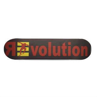 Revolution #9 personalisiertes skateboarddeck
