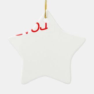 Revolution Keramik Stern-Ornament