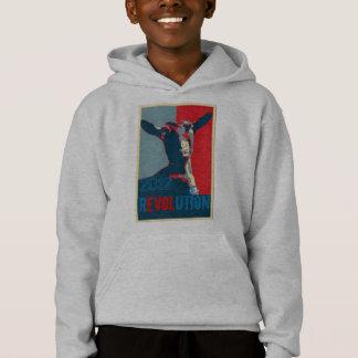 Revolutions-Jungen Hoodie
