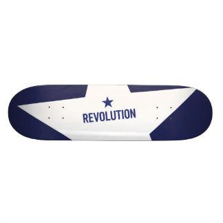 Revolutions-Skate-Plattform 2 Individuelle Skatedecks
