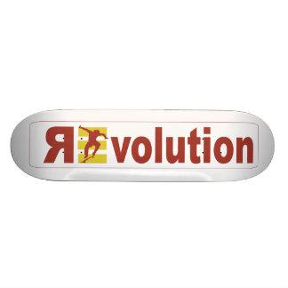 Revolutions-Wettbewerb Bedruckte Skateboarddecks