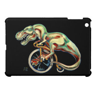 Rex auf einem Pennyfarthing iPad Mini Hülle